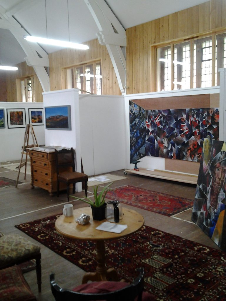 View of Gallery copyright Bernard Barnes
